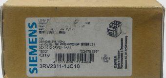 SIEMENS 3RV2311-1JC10