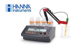 Jual Hanna Instruments Pengukur Konduktivitas Benchtop dengan ATC - HI2315