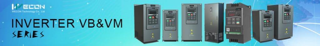 INVERTERS WECON VB Series VFD 200KW-400KW 11KW-185KW 0.75KW-7.5KW. VM Series VFD
